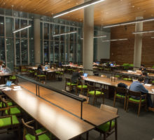 Dineen Hall Law Library Interior
